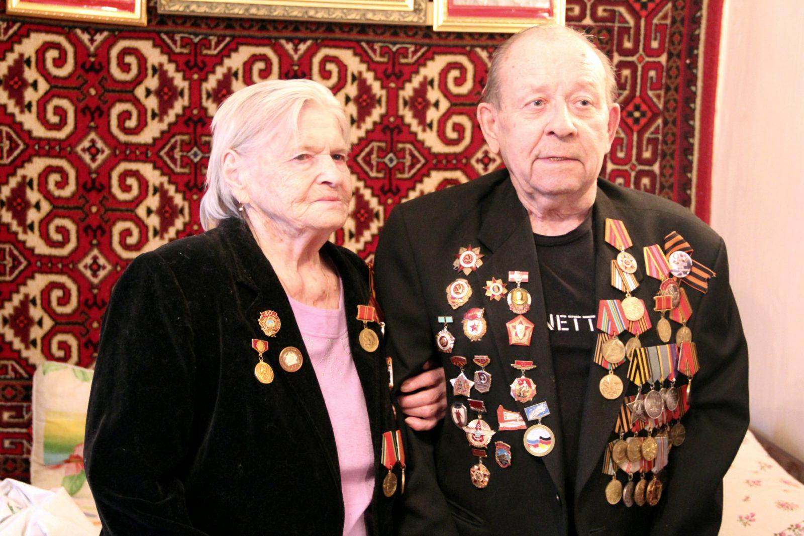 Мария Дмитриевна и Пётр Иванович Санталовы