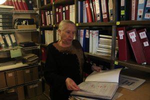 Лидия Потапова, заведующая архивом